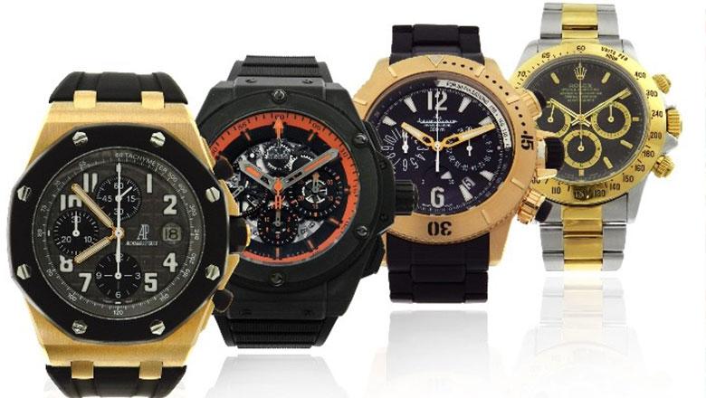 eaf6f1fb38b Leilão tem relógio de luxo de mais de R 20.000 com lance atual de R 1.900