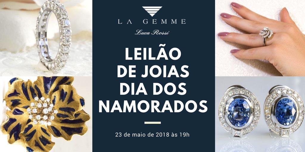 d52cb965adc9c Leilão de joias de alto padrão do dias dos namorados na La Gemme Luca Rossi  - Blog Leilões BR