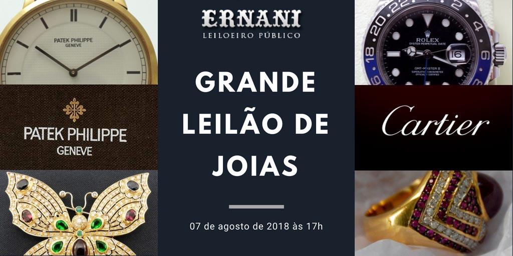 f308ec3dc86 Confira o Grande Leilão de Joias Ernani Leiloeiro em 07 de agosto de 2018 - Blog  Leilões BR