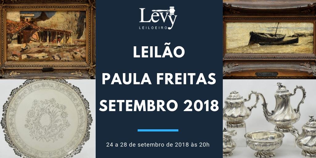 aecb9580316 Leilão Paula Freitas de setembro com mais de 1200 lotes começa dia 24 de  setembro