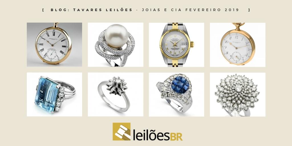 afdd69ca0cd Tavares Leilões faz leilão de joias e relógios nos dia 7 e 8 de fevereiro  às 14h - Blog Leilões BR